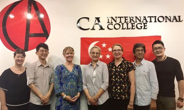 CA International College  CA성인 영어 전문 학원