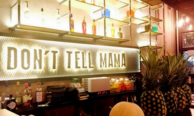 Don't Tell Mama (Korean-Mexican Fusion Bistro) 돈텔마마