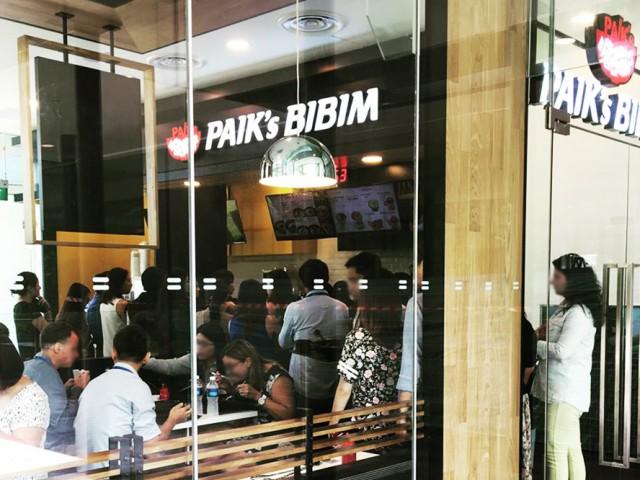 Paik's Bibim (Pasir Panjang Branch) 백스비빔밥 (파실판장)