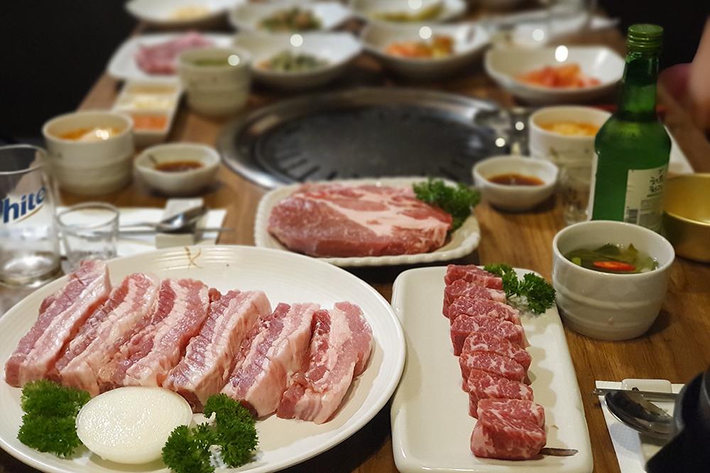 シンガポール韓国BBQ